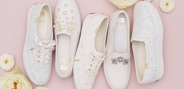 Brides, will you wear these Keds for Kate Spade sneakers?