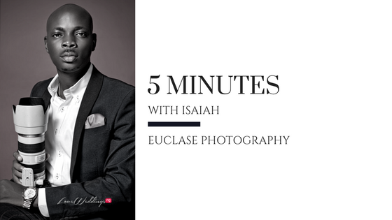 Isaiah Ogun ditched his bank job to become a wedding photographer