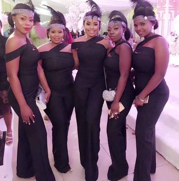 Anita and her bridesmaids from #ANYE18