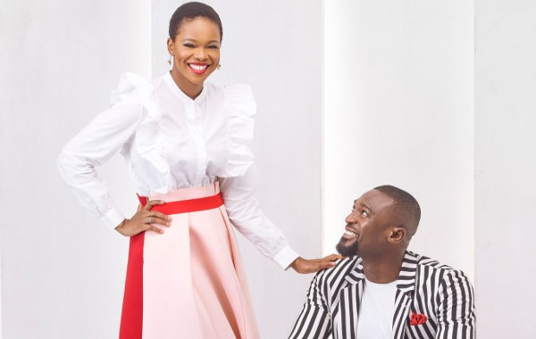 Kenneth Okolie & Zainab Balogun are perfect on the cover of ThisDay Style