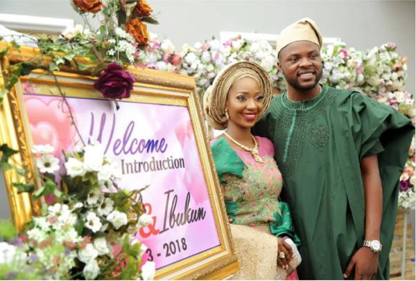 Dogba & Ibukun's Grand Wedding Introduction in Oyo state