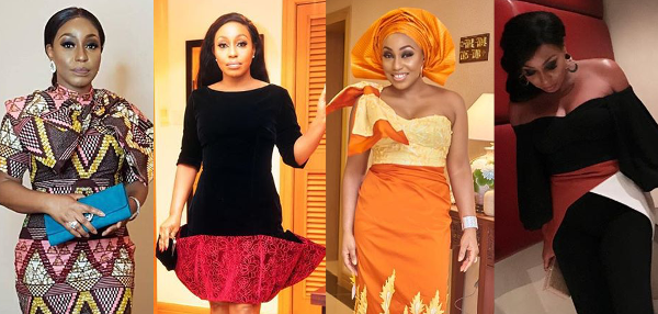 Wedding worthy inspiration from Nollywood's Rita Dominic