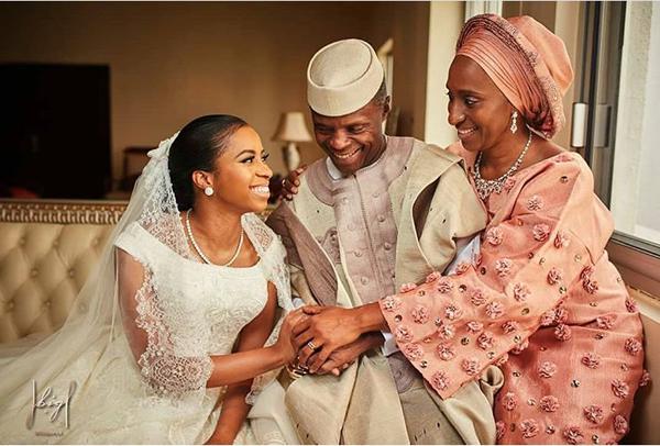 The Vice President's Daughter, Damilola Osinbajo weds Oluseun Bakare | First Photos