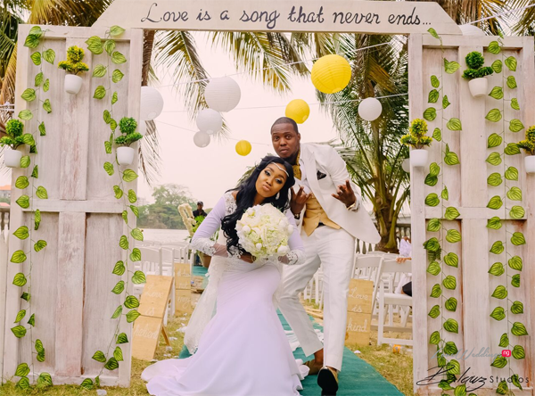 What we loved about Ini & Femi's Chic & Rustic Wedding in Lagos | #TheLeyeLoveLane