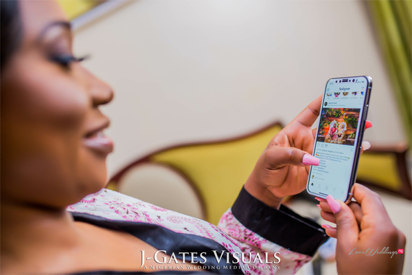 5 Things Nigerian Brides do on Instagram after saying 'I Do'