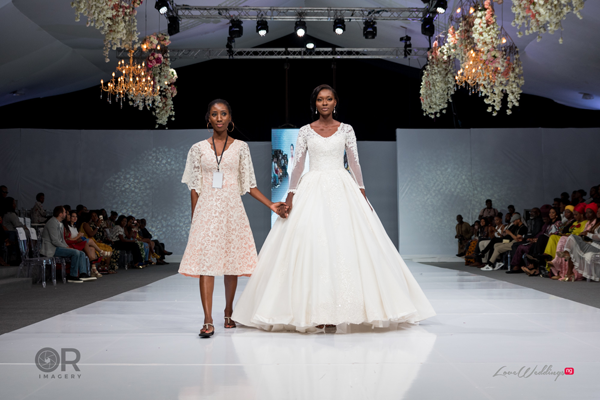 Elizabeth & Lace Bridal at Lagos Bridal Fashion Week 2018 | #LagosBFW2018