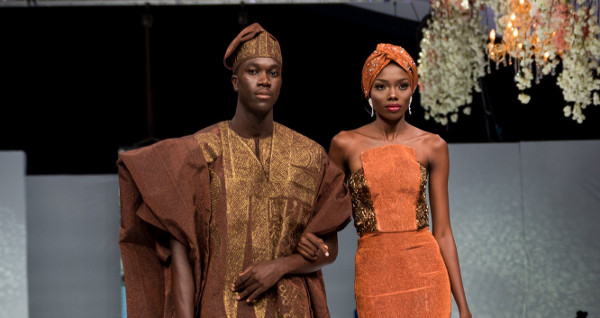 Shadiat Alaso Oke at Lagos Bridal Fashion Week 2018 | #LagosBFW2018