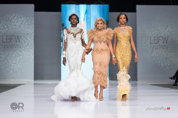 Magnetic Elegance at Lagos Bridal Fashion Week 2018 | #LagosBFW2018