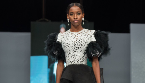 Valerie Davids at Lagos Bridal Fashion Week 2018 | #LagosBFW2018