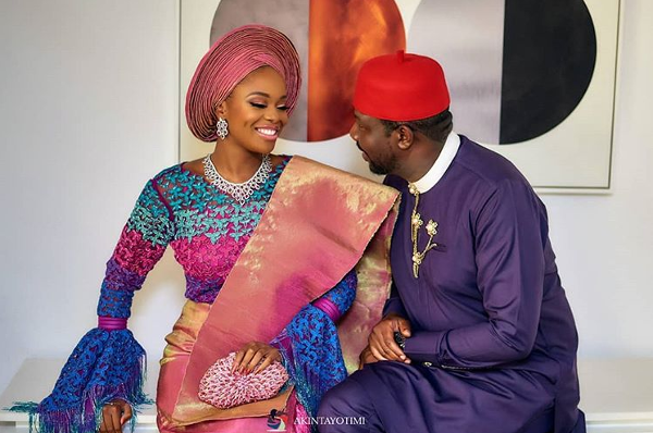 First Photos from Zainab Balogun & Dikko Nwachukwu's Traditional Wedding