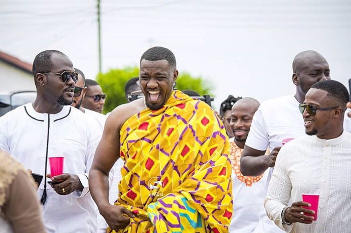 Pictures from Ghanaian actor, John Dumelo's traditional wedding