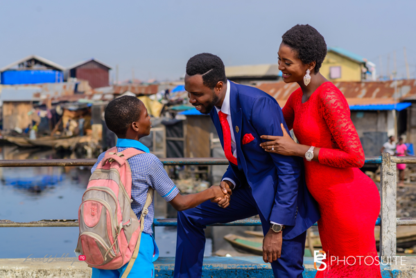 Another Instagram DM Love Story… See Funmi & Dele's Pre-Wedding Shoot in Makoko | Photosuite