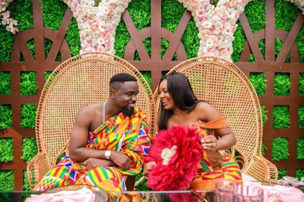 Ghanaian Rapper, Sarkodie weds Tracy | #TheHighestWedding