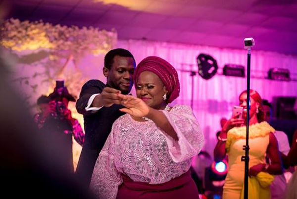 Nollywood came out to celebrate Olusoji Jacobs & Boma Douglas' White Wedding | #BOJ2018