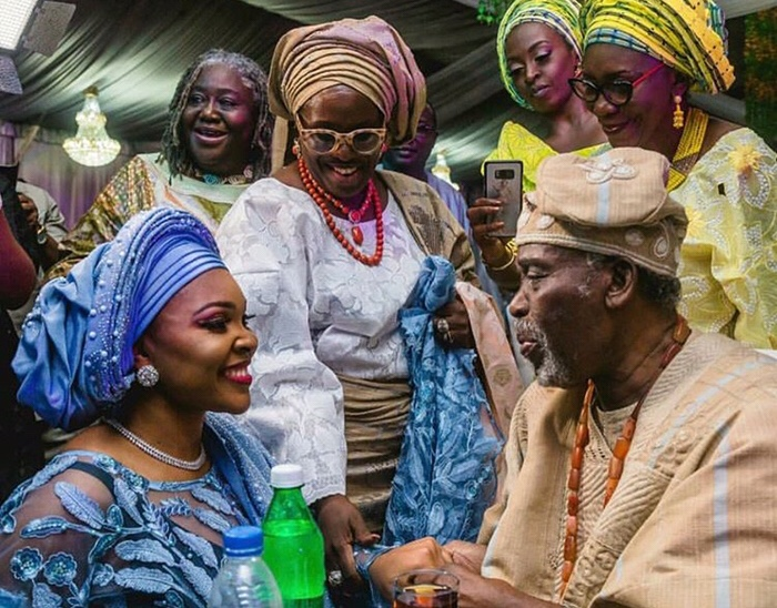 First Look at Olusoji Jacobs & Boma Douglas' Traditional Wedding