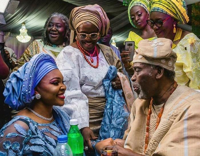 First Look at Olusoji Jacobs & Boma Douglas' Traditional Wedding