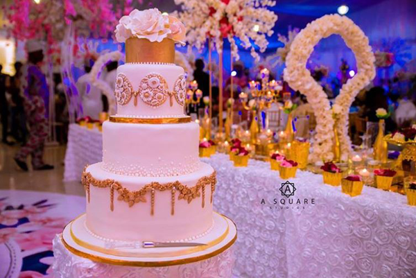 10 Wedding Cakes from 2018 Nigerian weddings we've loved so far