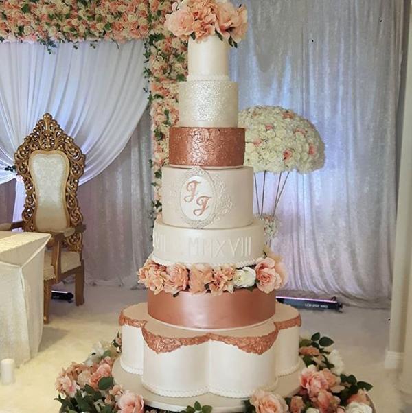 10 Wedding Cakes From 2018 Nigerian Weddings We Ve Loved So Far