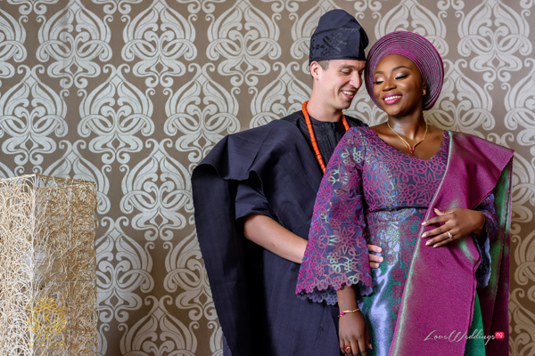 Derayo & Erik's Stunning Nigerian Traditional Wedding | #AdeErik18