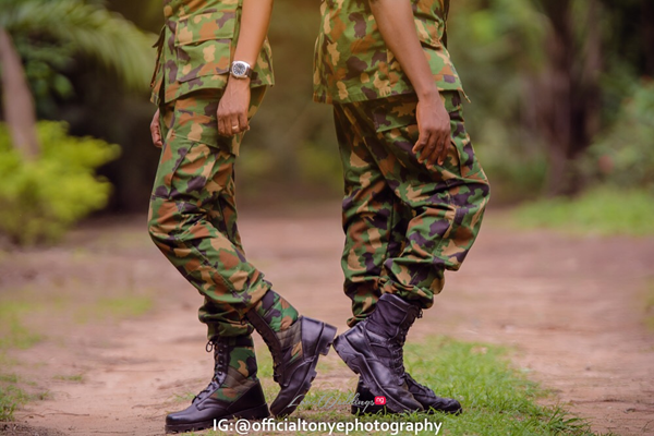Meet the Military Couple, Sylvester & Abimbola | Tonye Photography