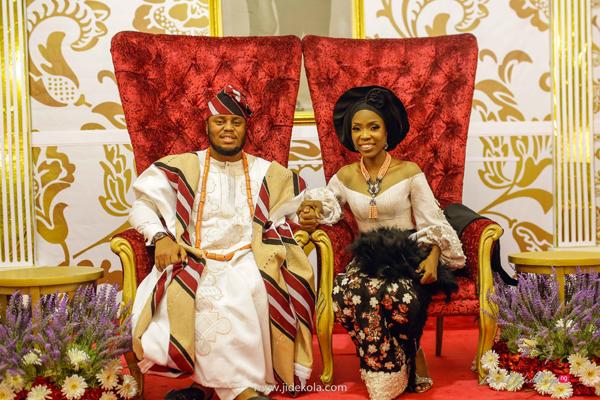 Kemi 'Lala' Akindoju & Gbubemi Fregene (Chef Fregz) Itsekiri – Yoruba Traditional Wedding | #AsewereniseOluwa