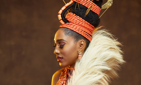 This Edo traditional bridal inspiration is so royal