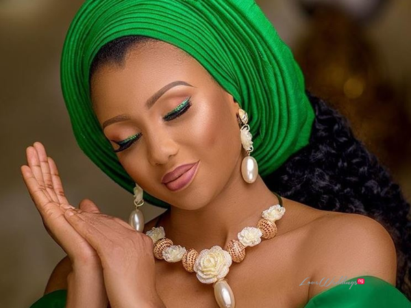 Nigeria at 58: All the green and white bridal inspired looks to celebrate Nigeria's Independence Day