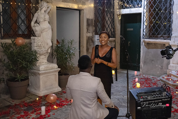 Tola's Surprise Proposal in Venice is a MUST Watch  | #ForeverIsraels