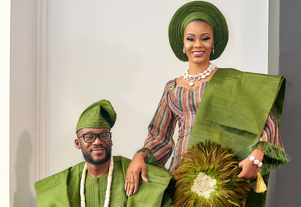 What we loved about Debbie & Femi's Green Traditional Wedding | #TheBeecrofts18