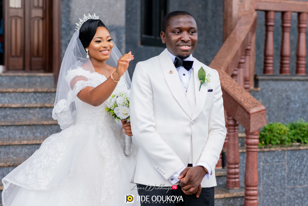 Hodo & Emeka met on Facebook last year; today, they're married | #HN2018