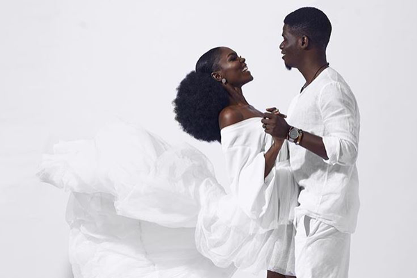 Emmanuel & Jemimah's Anniversary shoot is giving us pre-wedding shoot vibes