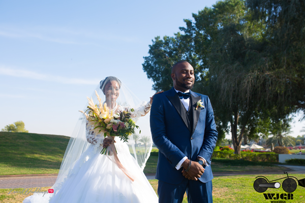 20 Nigerian Couples who took a 'First Look' before the aisle | Nigerian Wedding Trend