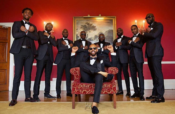#WakandaForever | The latest Nigerian Wedding Pose