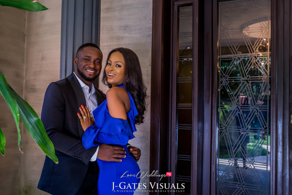 Chidimma & Uche's cute pre-wedding shoot | #CUatourWedding