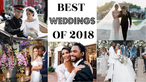 Wura Manola's top 20 weddings of 2018 featuring #OGLoveStory, The Royal Weddings & More