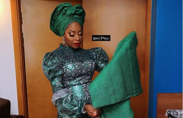We love Mo Abudu's 'Mother of the Bride' look to her daughter's introduction | #TeddieMak