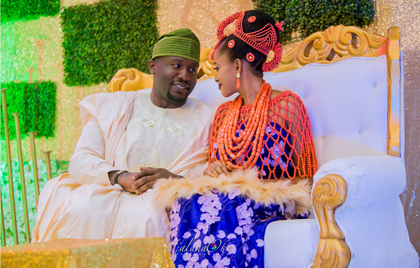 Rekiayat & Kayode's traditional wedding photos are beautiful | #KayTess18