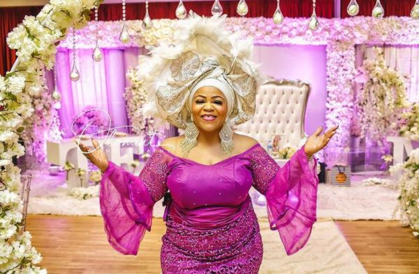 See Popular Alaga, Evangelist Sylvia Omoniyi's nine stunning outfits
