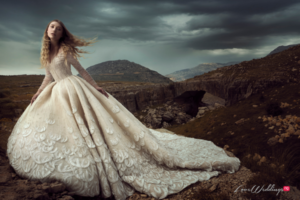 Saiid Kobeisy's 2019 Bridal Collection is A Vision of Love