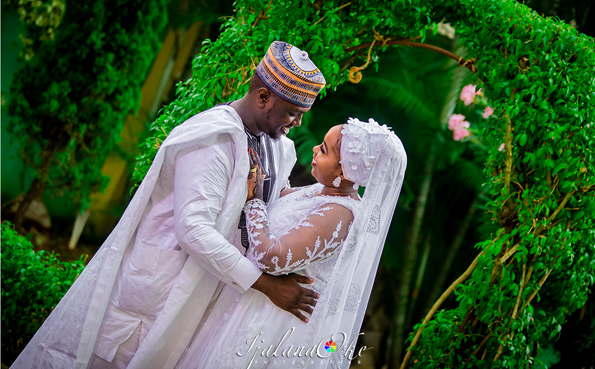 Zara & Ismaila's Nikah Wedding photos are cute | #Zalia18