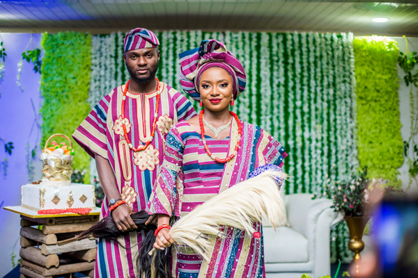 Abisola & Adedafosi found love at the NYSC camp in Kogi | #TheLAWedding2019