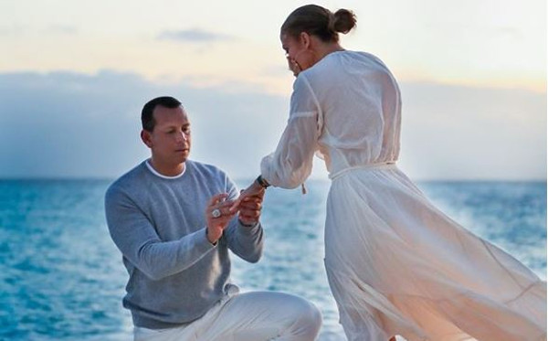 JLo & Alex Rodriguez are engaged!