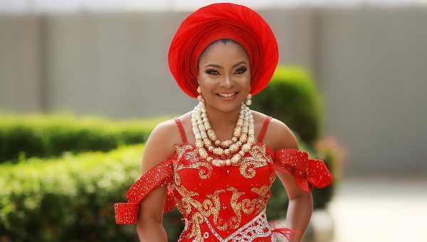 Nollywood actress, Linda Ejiofor-Suleiman loves Nigerian weddings; here's why