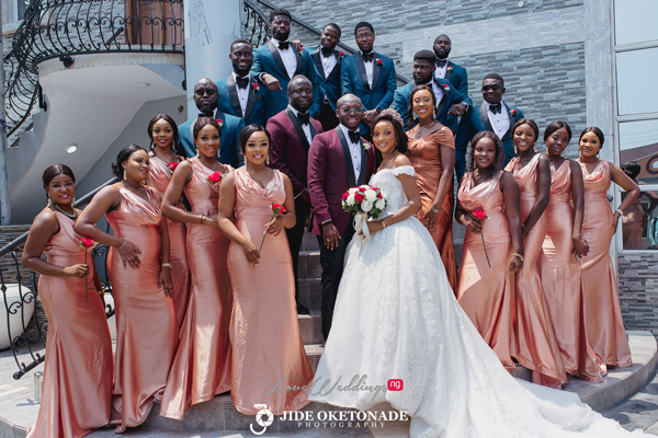 Nkem & Uche's romantic yet fun wedding | #TheNUWedding