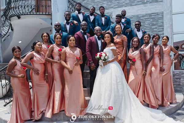 Nkem & Uche's romantic yet fun wedding | #TheNUWedding