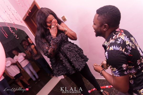 Surprise birthday party turned proposal | #Destoy2019
