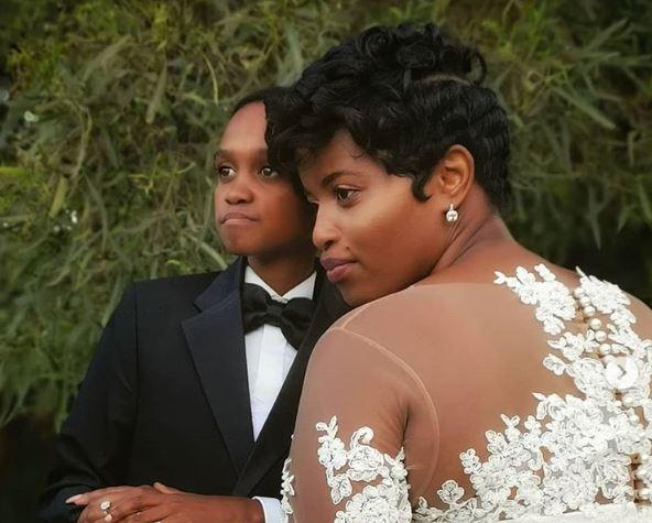 South African actor, Themba Ntuli weds Hope Masilo