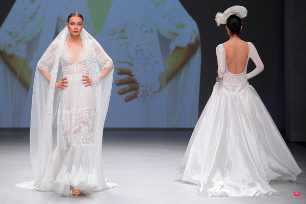 Flora at the Valmont Barcelona Bridal Fashion Week 2019 | #VBBFW19