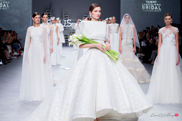 Jesus Peiro at the Valmont Barcelona Bridal Fashion Week 2019 | #VBBFW19