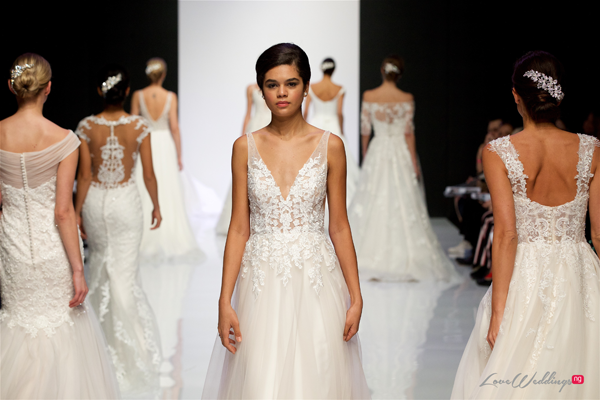 Justin Alexander at London Bridal Fashion Week 2019 | #LBFW2019